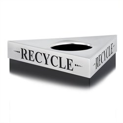 Recycle Lid in Stainless Steel