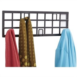 Grid Coat Rack in Black