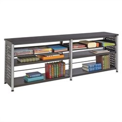 Safco Scoot Credenza in Black