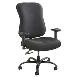 400lb Big and Tall Office Chair in Black