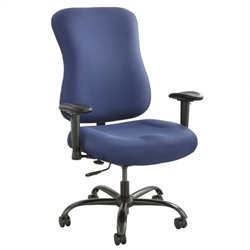 400lb Big and Tall Office Chair in Blue