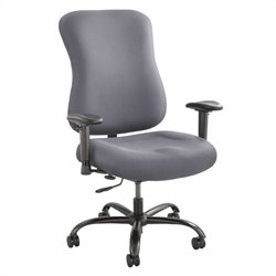 400lb Big and Tall Office Chair in Gray