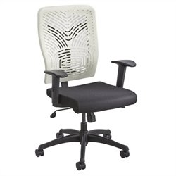 Task Office Chair Plastic Back in Latte