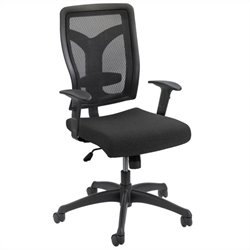 Task Office Chair Mesh Back in Black
