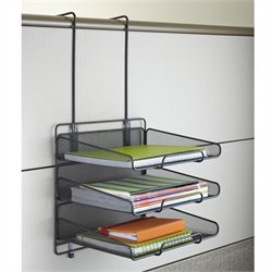 Panel Organizer Triple Tray in Black