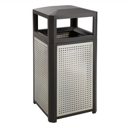 15 Gallon Steel Waste Receptacle