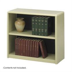2-Shelf ValueMate Sand Economy Steel Bookcase