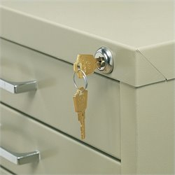 Lock Kit for 5-Drawer Steel Flat File
