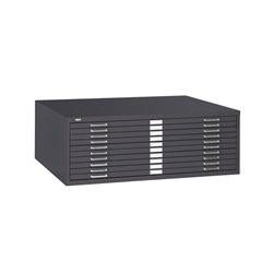 10 Drawer Metal Flat Files Cabinet for 30