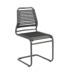 Eurostyle Baba Flat Guest Chair in Black