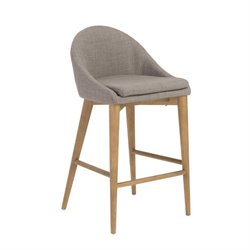 Baruch Dark Gray Stool