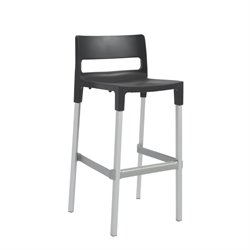 Divo Stackable Stool in Anthracite