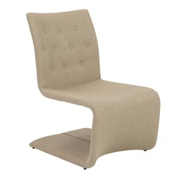 Eurostyle Ville Lounge Chair in Tan (Set of 2)