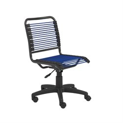Eurostyle Bungie Low Back Office Chair in Blue