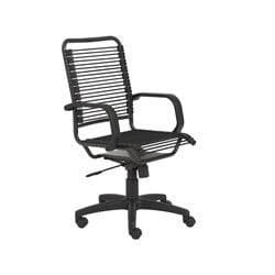 Eurostyle Bradley High Back Bungie Office Chair in Black