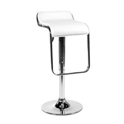 Fuller Height Adjustable Low Back Bar Stool