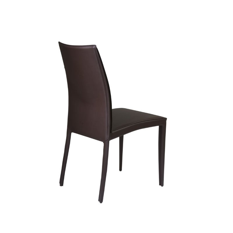 Eurostyle Dafney Dining Chair in Brown