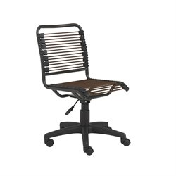Eurostyle Bungie Low Back Office Chair in Brown