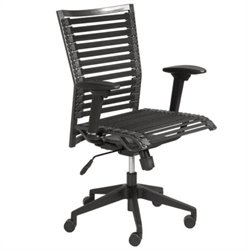 Eurostyle Bungie Pro Flat Office Chair in Black/Black