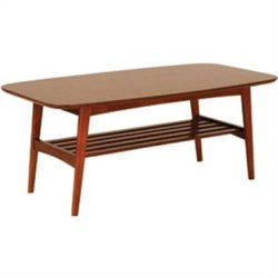 Eurostyle Carmela Coffee Table in Walnut