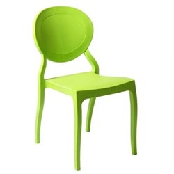 Eurostyle Vasska  Dining Chair in Green