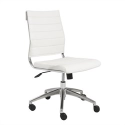 Eurostyle Axel Low Back Office Chair in White