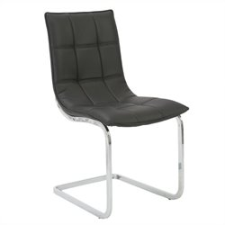 Eurostyle Chad  Dining Chair in Black