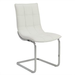 Eurostyle Chad  Dining Chair in White
