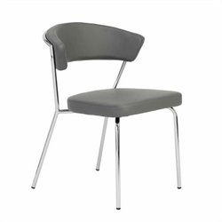 Eurostyle Draco  Dining Chair in Gray