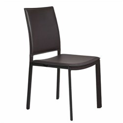 Eurostyle Kate  Dining Chair in Brown Leatherette
