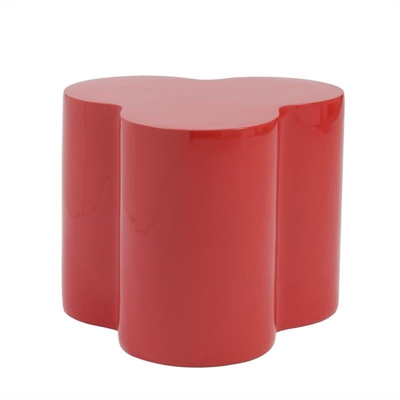 Eurostyle Sloan Stool in High Gloss Red
