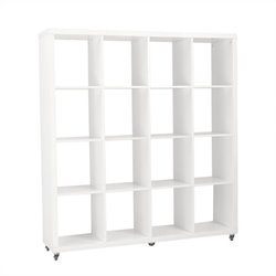Eurostyle Sabra 4X4 Shelving Unit in White