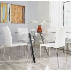 Eurostyle Fridrika Diana 5 Piece Dining Set