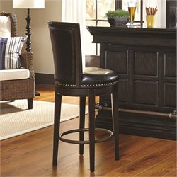 Pulaski Burton Swivel Bar Stool in Brown