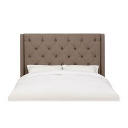 MER-1242 Shelter Linen Upholstered King Headboard