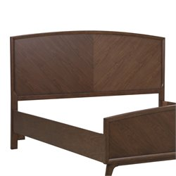MER-1242 Modern Harmony Panel Headboard in Brown