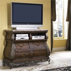 Pulaski Birkhaven Media Chest in Lush Mocha Finish