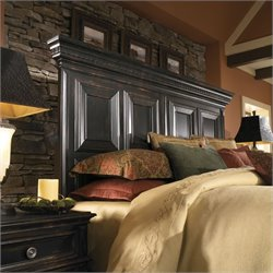 Pulaski Brookfield Panel Headboard in Ebony