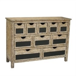 Pulaski Accent Chest in Rustic Natural