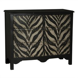 Pulaski Accent Chest in Black and Brown