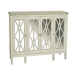 Pulaski 4 Door Console in White