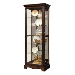 Pulaski Curio Classic Display Cabinet in Warm Cherry