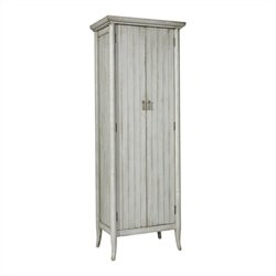 Pulaski Accents Wine Cabinet in Distressed Grey