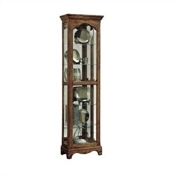 Pulaski Curio Cabinet in Halifax Finish