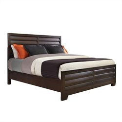 Pulaski Tangerine 330 2PC Queen Panel  Bed Set in Sable Finish