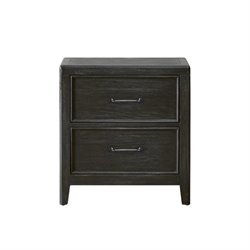 Pulaski Vintage Tempo Nightstand in Black