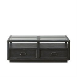 Pulaski Vintage Tempo Coffee Table in Black
