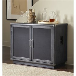 Pulaski Vintage Tempo Home Bar in Black