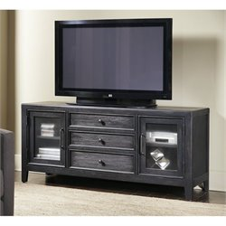 Pulaski Vintage Tempo TV Stand in Black