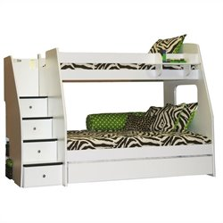 Berg Furniture Enterprise Twin over Full Bunk Bed